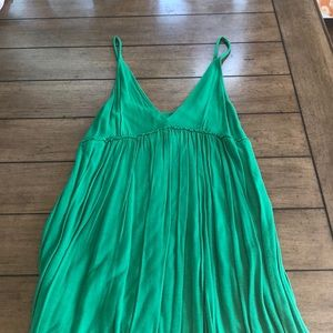 Dresses & Skirts - Kelly green beach cover up!